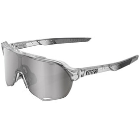 100% S2 Hiper Mirror Gafas, translucent grey